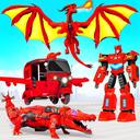 Tuk Tuk Rickshaw Dragon Robot Transform Robot Game