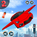 Flying Car Shooting Game: Modern Car Games 2020