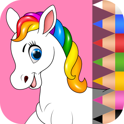 Unicorn Coloring Book for Kids 🦄