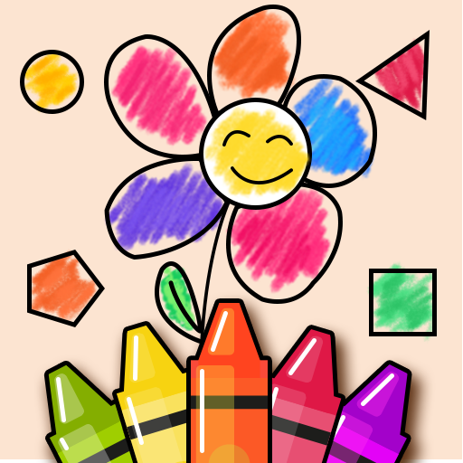 Shapes & Colors Learning Games for Kids, Toddler🎨
