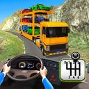 Car Transporter Truck Game-Carrier Truck Simulator