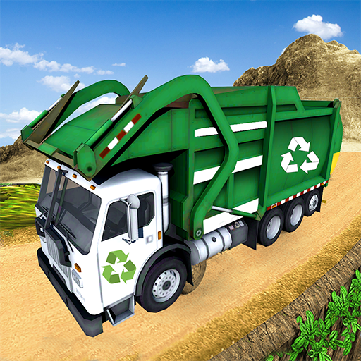 Offroad Garbage Truck Simulator City Trash Driver