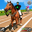 Horse Racing Games 2020: Derby Riding Race 3d