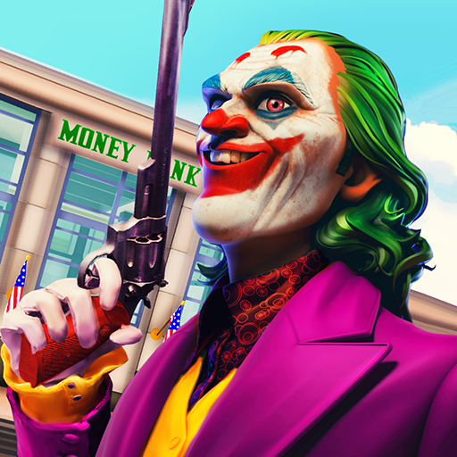 Clown Crime City Mafia: Bank Robbery Game