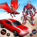 Flying Dragon Robot Car Transform Robot Shooting