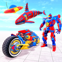 Mega Robot Games: Flying Car Robot Transform Games