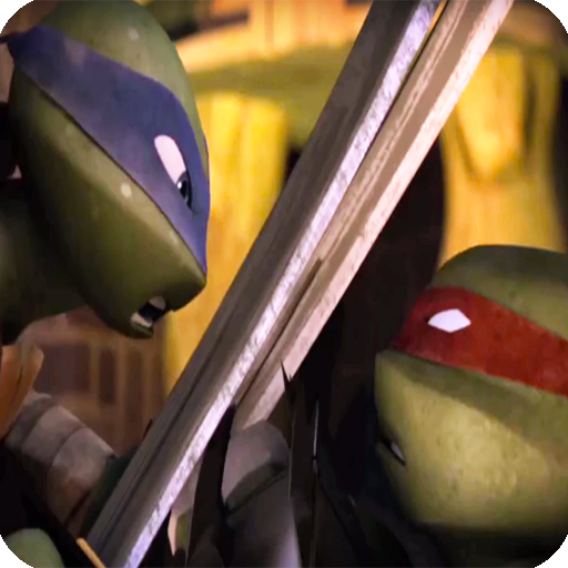 Teenage Mutant Hero Turtles fight