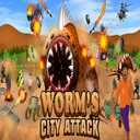 Worm's City Attack
