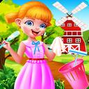 خانه تکانی و کوچولوی نظافت چی