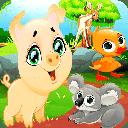بازی تفاوت حیوانات جنگل