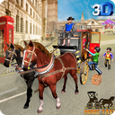Horse Taxi City School Transport Pro