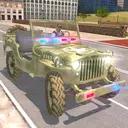 American Police Jeep Driving: Police Games 2020