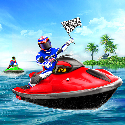 Speed Boat Stunts - Water Surfer Racing Games 2020