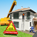 House Building Construction Games - House Design