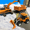 Real Snow Plow Truck Simulator - Excavator Games