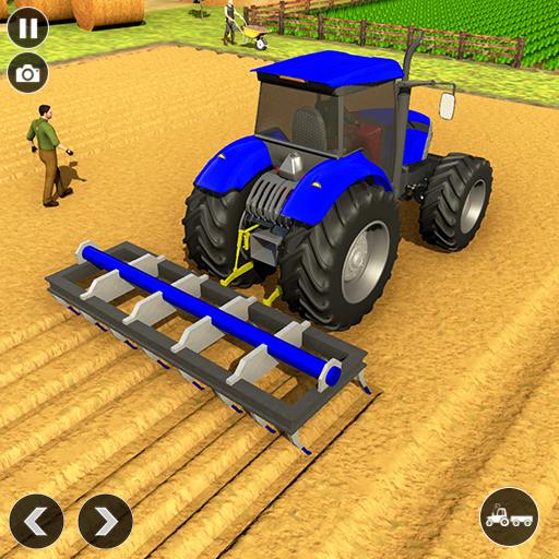 Real Tractor Driver Farm Simulator -Tractor Games