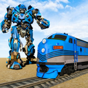 Mega Train robot transformation: Grand robot games