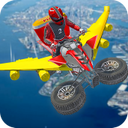 Flying ATV City Pizza Delivery