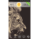 King- شیر GOLauncher EX Theme