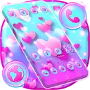 Love Bubble Launcher Theme