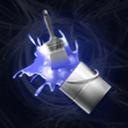 Blue Glow Go Launcher & Locker