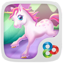 unicorn GOLauncher EX Theme