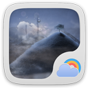 Default theme 2.0 GO Weather EX