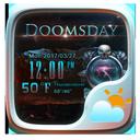 Doomsday Weather Widget Theme