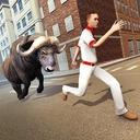 Angry Bull Wild Attack City Revenge