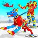 Police Dog Robot Car Game - Robot Transforme Games
