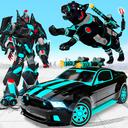 Panther Robot Car Game - Robot Transforming Games