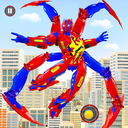 Spider Robot Car Game – Robot Transforming Games