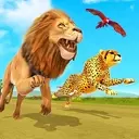 Savanna Animal Racing 3D: Wild Animal Games