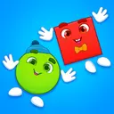 Learning shapes: toddler games for 1 - 4 year olds