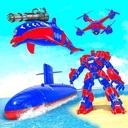Dolphin Robot Transform: Robot War