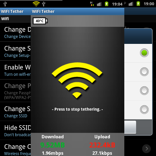 Android Tethering