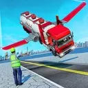 Offroad Oil Tanker Flying Truck Transport Driver