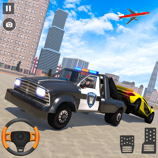 Police Tow Truck Driving Simulator