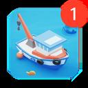 Fish idle: hooked tycoon.  Fishing boat simulator