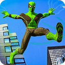 Frog Ninja Hero Gangster Vegas Superhero Games