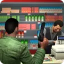Supermarket Robbery Crime City: FPS Shooting Games