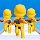 Gun clash 3D: Battle Friends