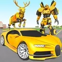 Deer Robot Car Game – Robot Transforming Games