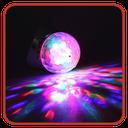 رقص نور فلش موبایل