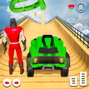 Superhero Buggy GT Mega Ramp Stunts Free