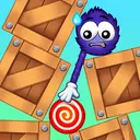 Catch the Candy: Remastered! Red Lollipop Puzzle