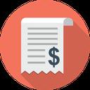 حسابداری رسید هزینه درامد مخارج