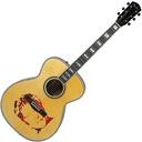 نقاشی روی گیتار