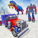 Police Truck Robot Game – Dino Robot Car Games 3d