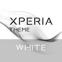 Xperia™ Theme White by Thunder